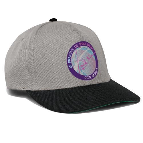 Logo poledance violet - Casquette snapback