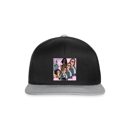 aim to the stars and you will reach the stallion - Snapback Cap