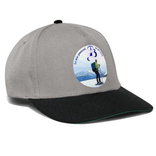 Logo cartone ciaspole - Snapback Cap