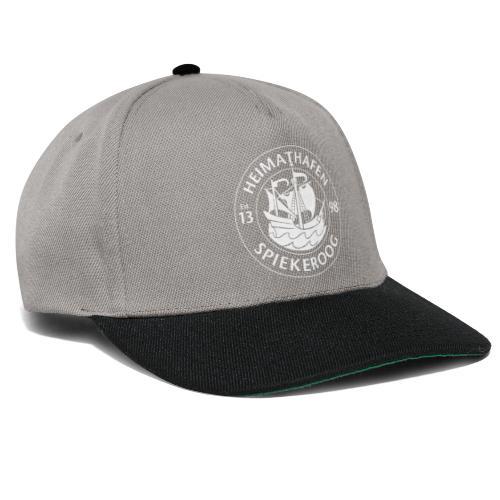 Heimathafen Logo Weiß - Snapback Cap