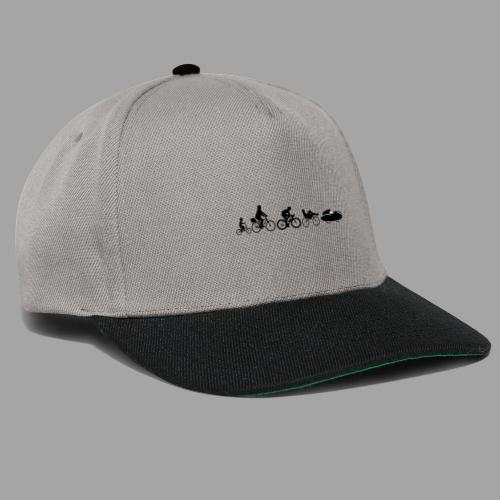 Bicycle evolution black Quattrovelo - Snapback Cap