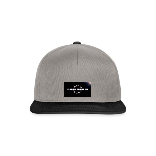 FLAMING GAMING, pre release merch - Snapback Cap