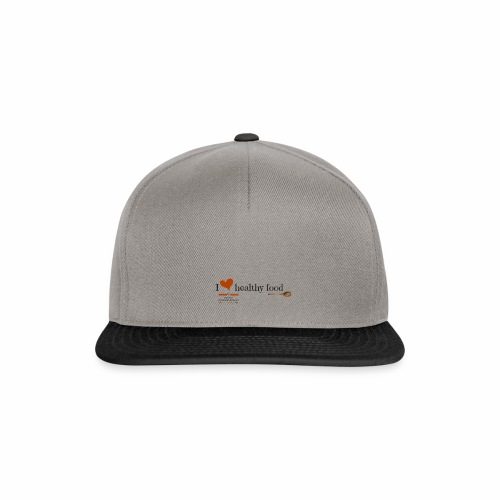 I love healthy food - Gorra Snapback