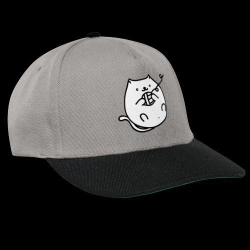 classic fat cat - Snapback Cap