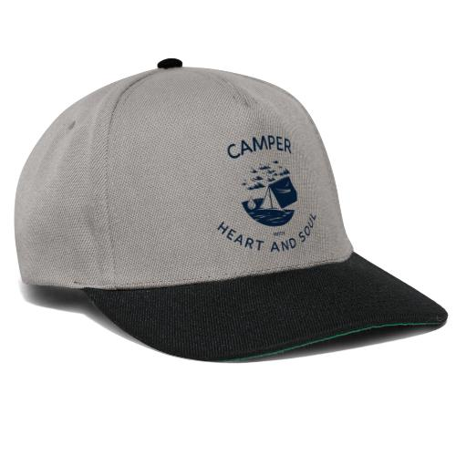 Camper with heart and soul - Snapback Cap