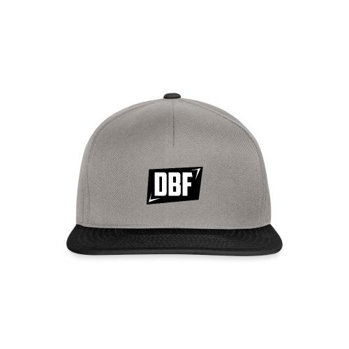 DBF Logo Text - Snapback Cap