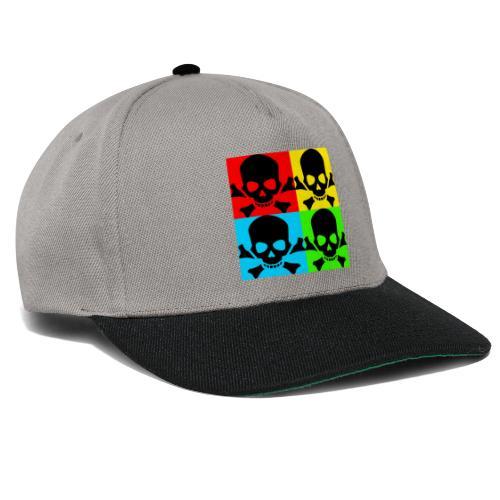 Art Skull - Snapback Cap