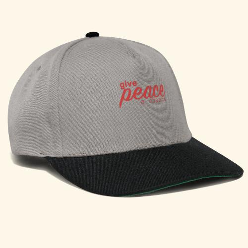 give peace a chance - Snapback Cap
