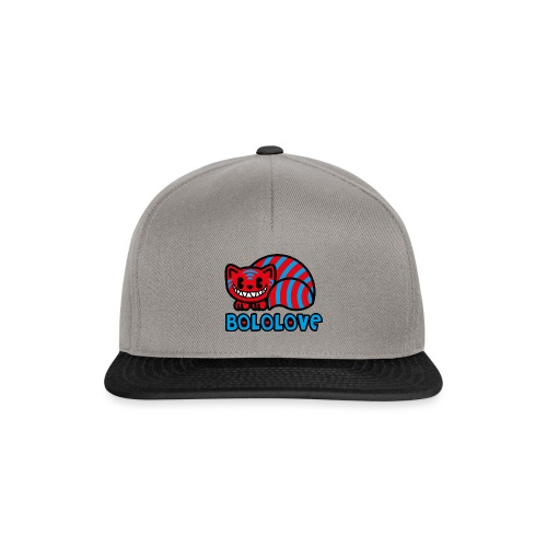 Bololove Cat Red - Snapback Cap