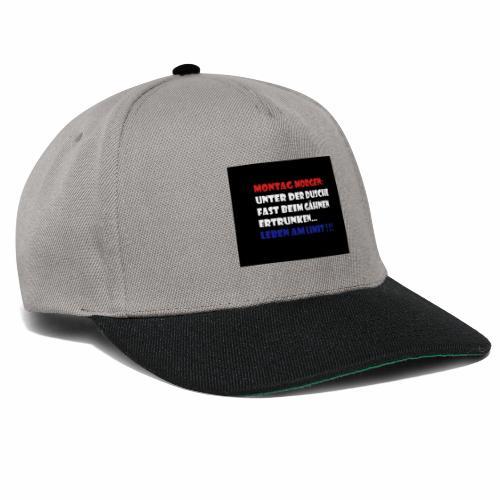 Montag Morgen - Snapback Cap