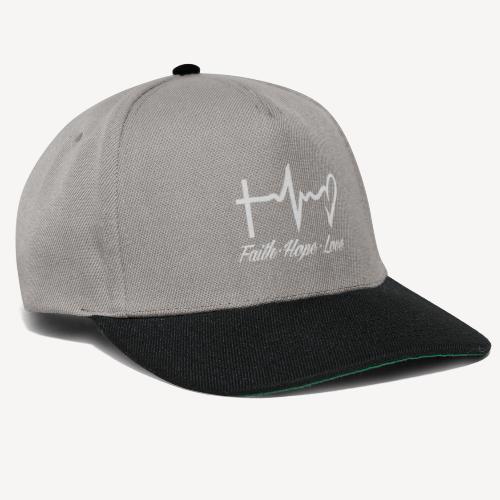 FAITH HOPE LOVE - Snapback Cap