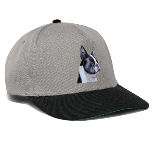 boston terrier - Snapback Cap