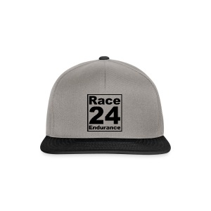 Race24 logo in black - Snapback Cap