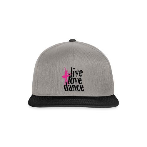 live,love,dance - Snapback Cap