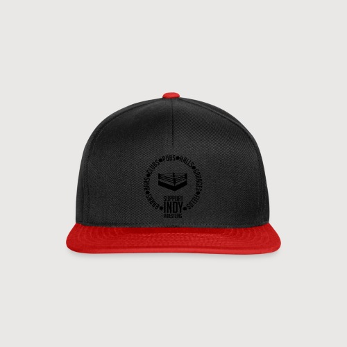 Support Indy Wrestling Anywhere - Snapback Cap