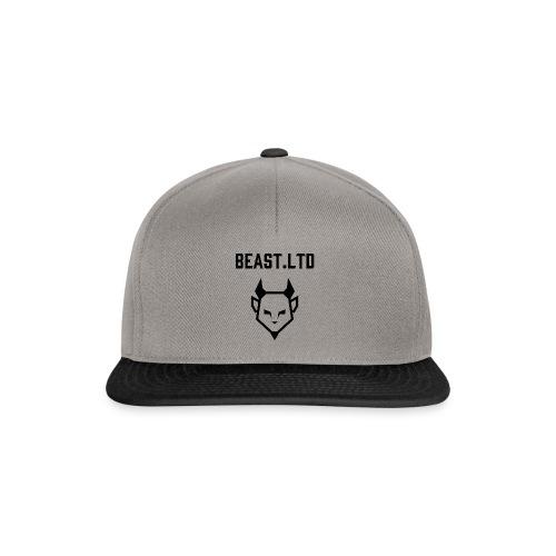Black Logo Trabag - Snapback Cap