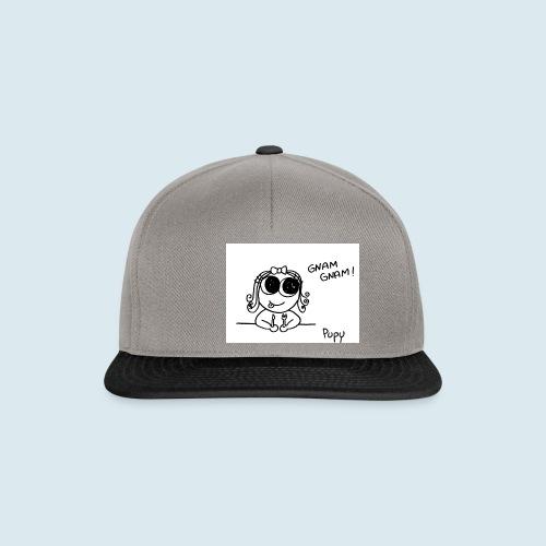 Pupy: gnam gnam! - girl - Snapback Cap
