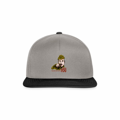 Walmington on Sea by Jon Ball - Snapback Cap