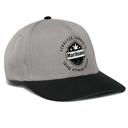 Legalize Cannabis Smoke Weed - Colors Changeable - Snapback Cap
