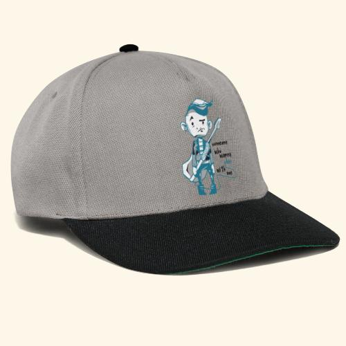 someone who wanna play with me Guitar - Snapback Cap