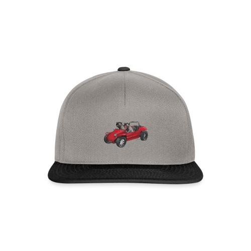Hungrige Hyänen auf der Jagd - Snapback Cap