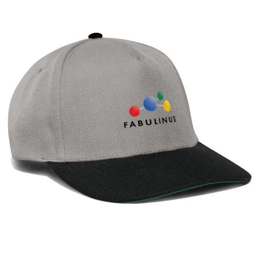 Fabulinus Zwart - Snapback cap