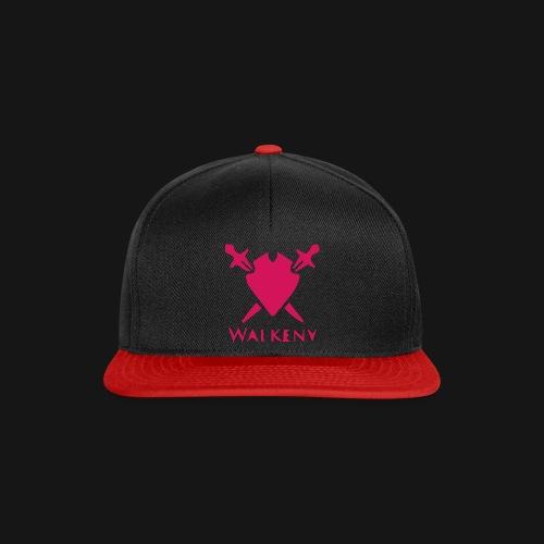 Das Walkeny Logo mit dem Schwert in PINK! - Snapback Cap