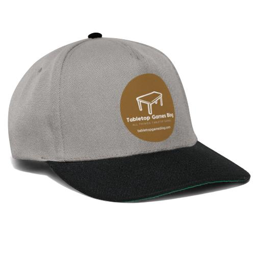 Circle Logo Brown - Snapback Cap