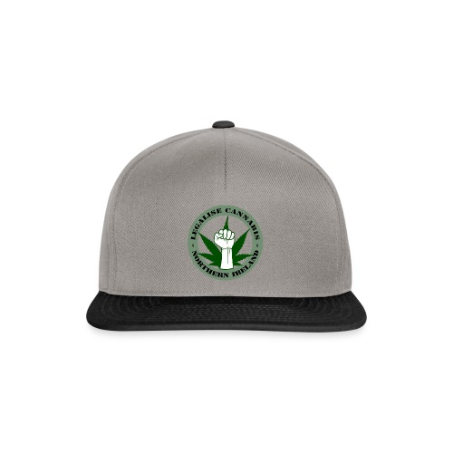 Legalise Cannabis - Northern Ireland - Snapback Cap