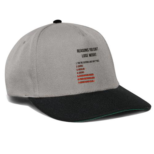 Losing weight - Snapback Cap