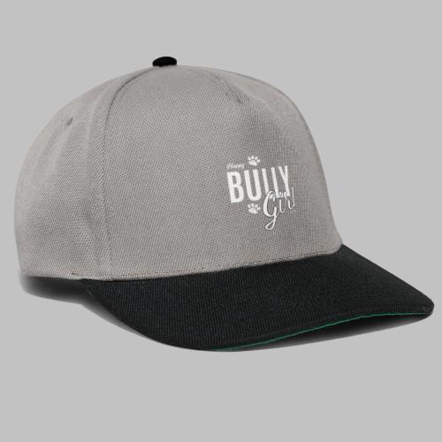 Happy Bully Girl - Französische Bulldogge Frenchie - Snapback Cap