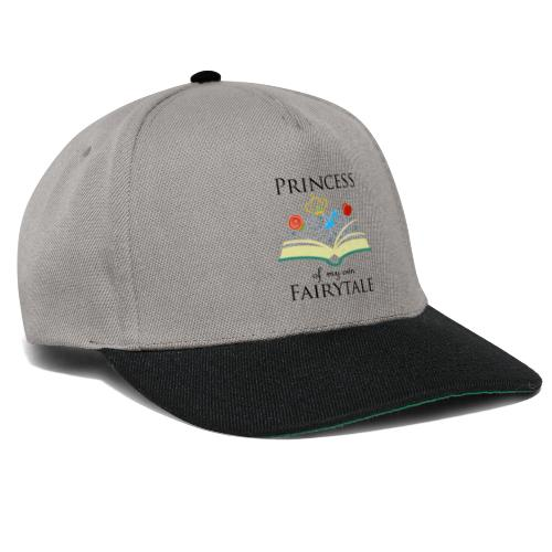 Princess of my own fairytale - Black - Snapback Cap