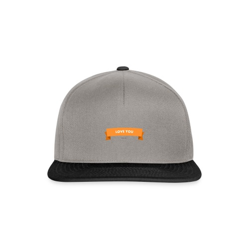 Love you 3 - Snapback Cap