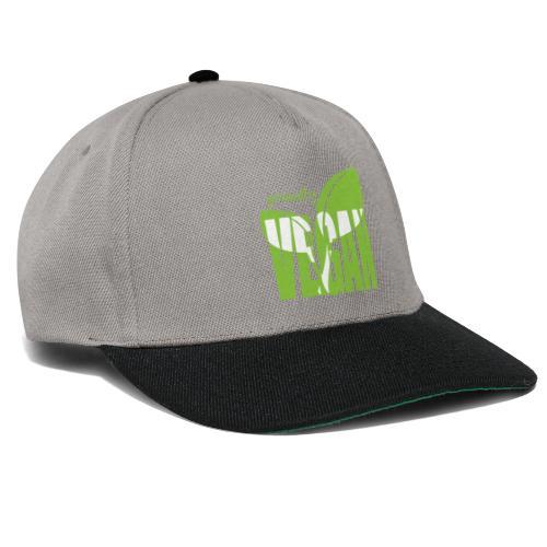 proudly vegan - Snapback Cap