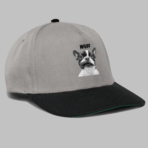 Wuff - Hundeblick - Hundemotiv Hundekopf - Snapback Cap