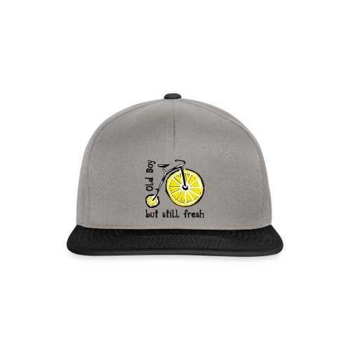 OLD BOY BUT STILL FRESH Textiles and Gifts - Snapback Cap