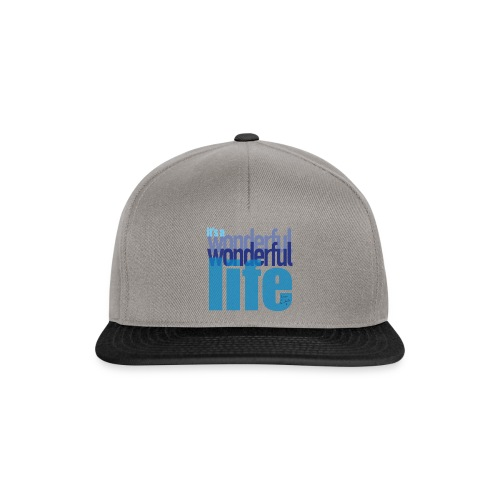 It's a wonderful life blues - Snapback Cap
