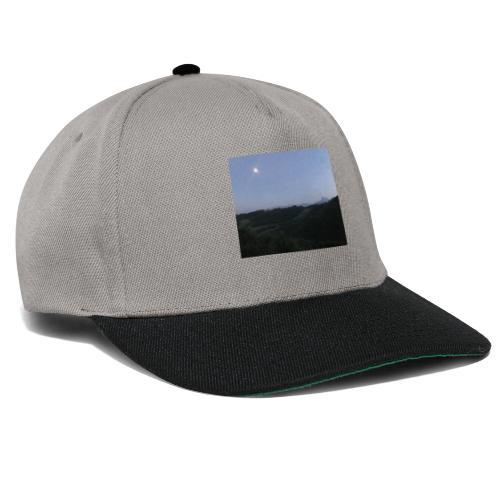 Paesaggio con luna - Snapback Cap
