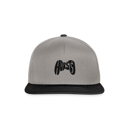 Hursty Black - Snapback Cap