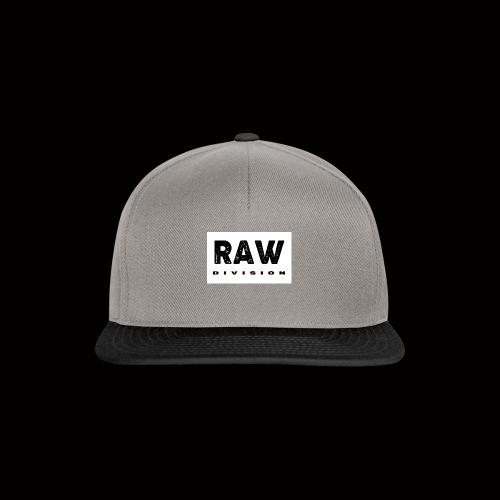 Raw DIvision BLACK LOGO - Snapback Cap