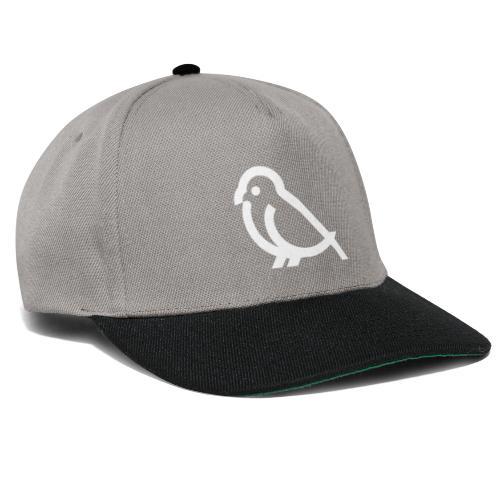 bird weiss - Snapback Cap