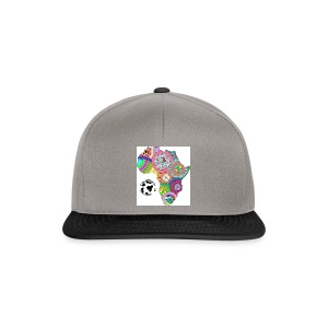 the world is round! - Snapback Cap