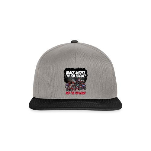 2016_black_smoke_red_IH_tshirt - Snapback cap