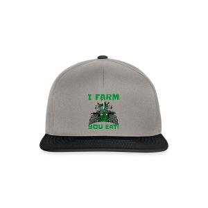 I farm you eat jd - Snapback cap