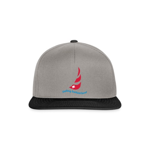 logo sailing switzerland - Snapback Cap