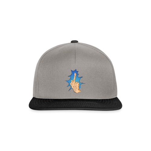 The Big Middle Finger - Snapback cap