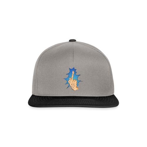 The Big Middle Finger - Snapback cap