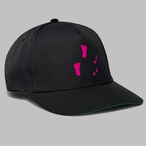 Die mit dem Hund joggt - Pink Edition - Snapback Cap