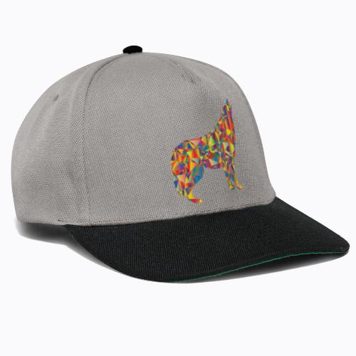howling colorful - Snapback Cap