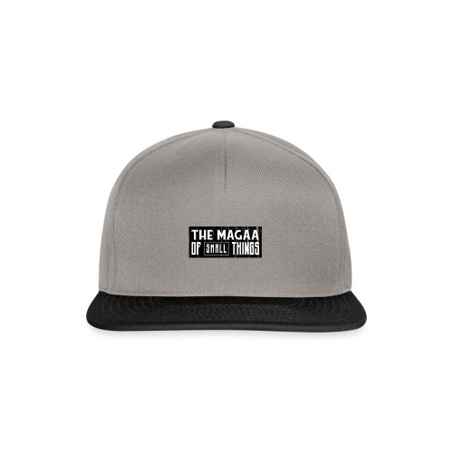 The magaa of small things - Snapback Cap